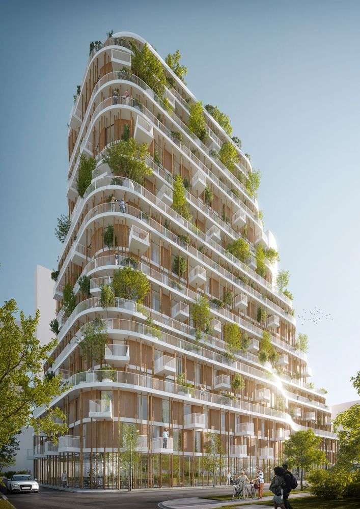 New Vancouver Forest Design in Canada Implemented by Urban Agency