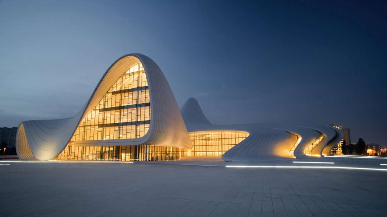 Zaha Hadid, the world's first lady of architecture