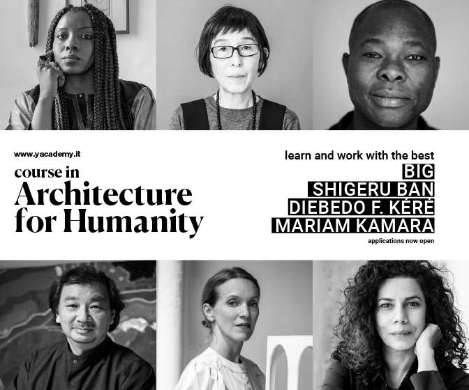 Bjarke Ingels, Keré, Kamara: Discover the Internships and Lectures of 'Architecture for Humanity' 2021 Edition