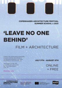 CAFx Film & Architecture Summer School