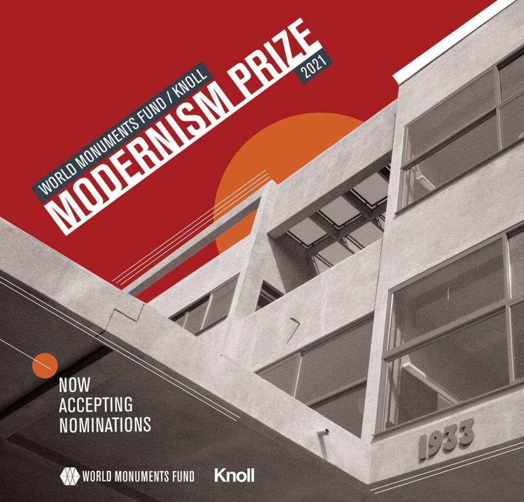 يكرم الصندوق العالمي للآثار الإنجازات البارزة في إنقاذ المباني التي ترمز إلى الحركة الحديثة الرائدة التي اجتاحت العالم خلال القرن العشرين.