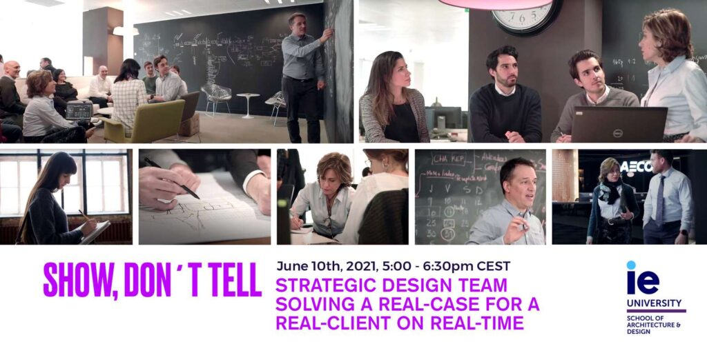 Online Workshop: Be Part of a Strategic Design Team Solving a Real Case in Real Time