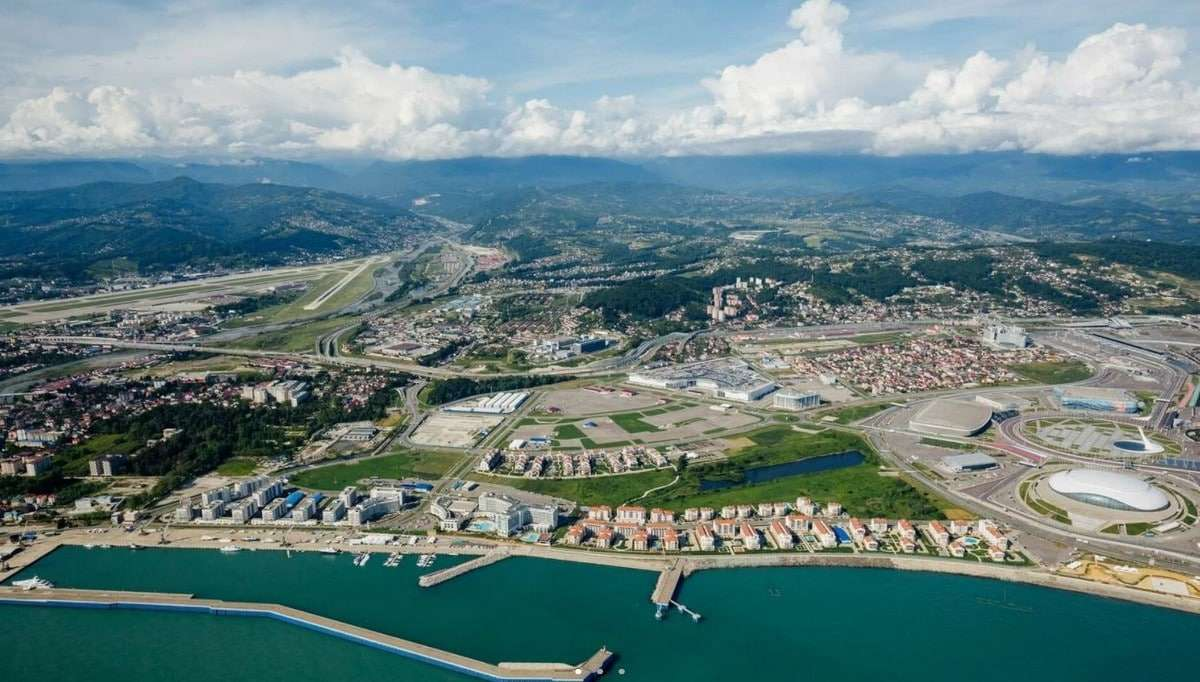 International open competition for the concept of architectural and urban planning for the development of the barrier in the Federal Territory of Sirius