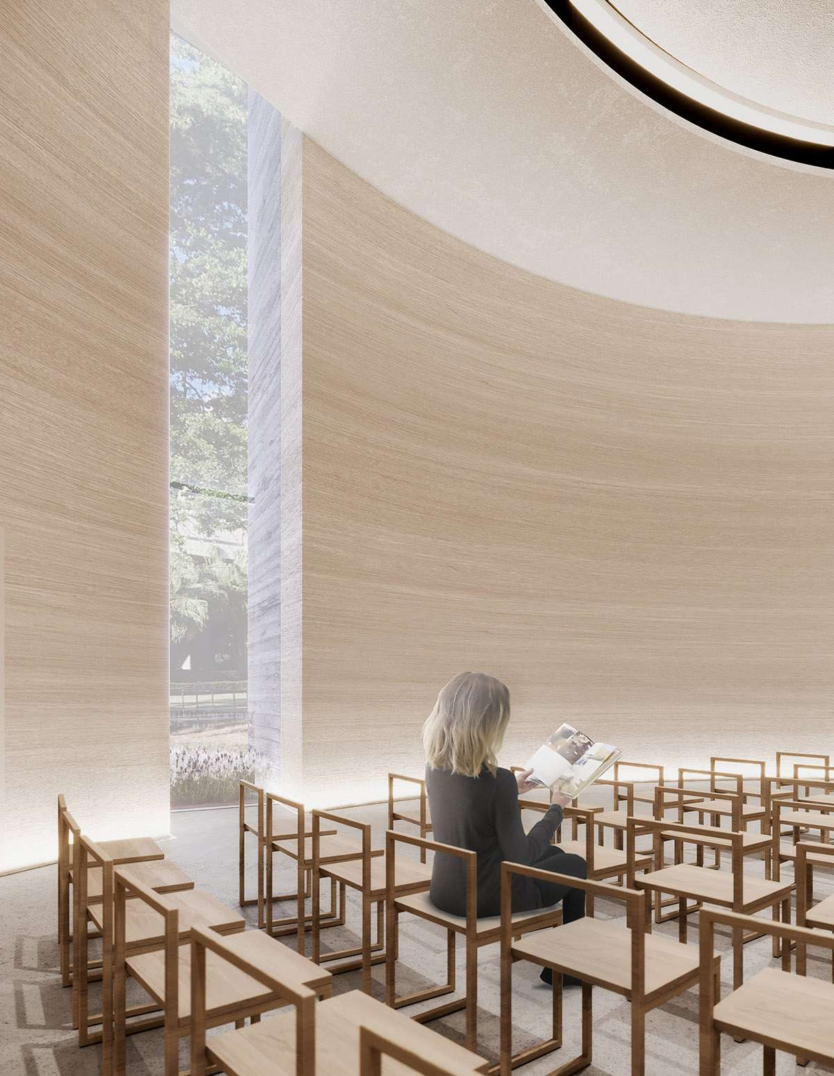 Trahan Architects designs a church for Loyola University
