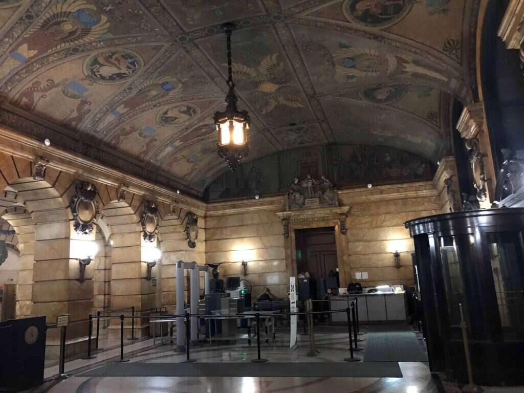 Our experience of a historic building in Surrogate's Courthouse