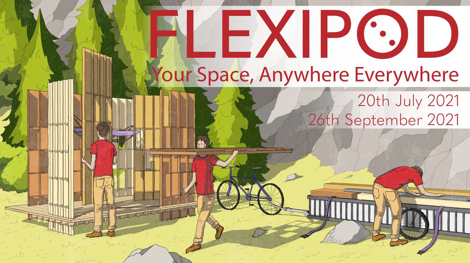 CALL FOR ENTRIES: Design a 'FlexiPod', a Flat-pack, Sustainable Pod!