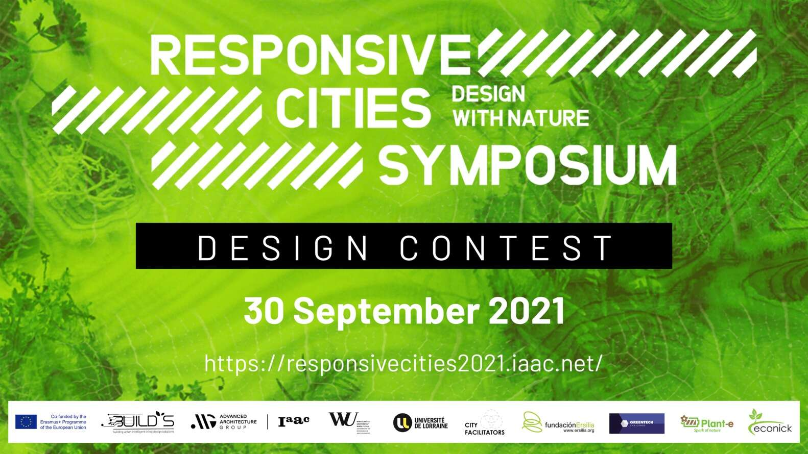 Call for Entries: Design with Nature Contest - Responsive Cities 2021