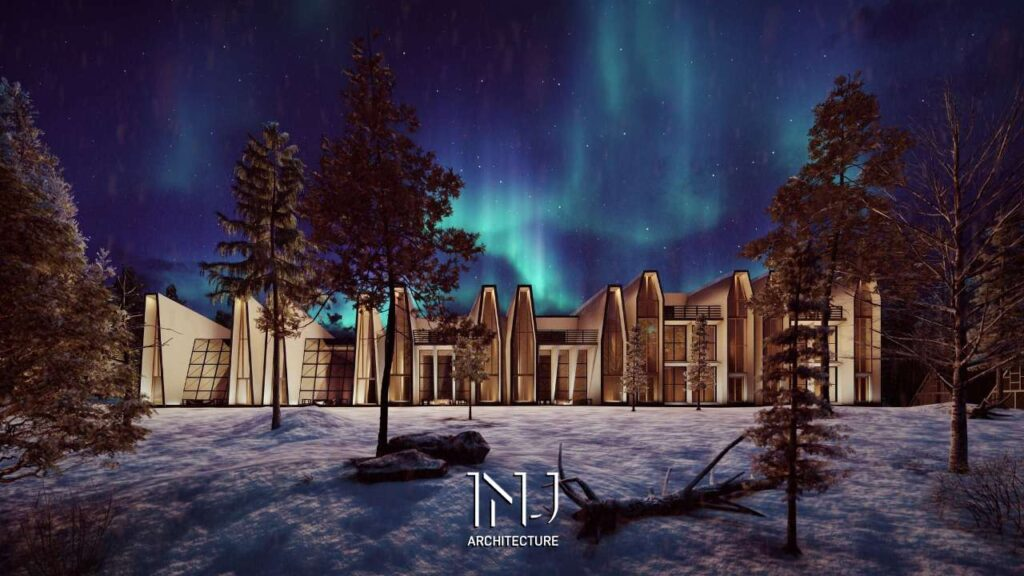 Ibrahim Joharji, The Saudi Architect, Wins a Great Position in The North Pole Hotel Competition