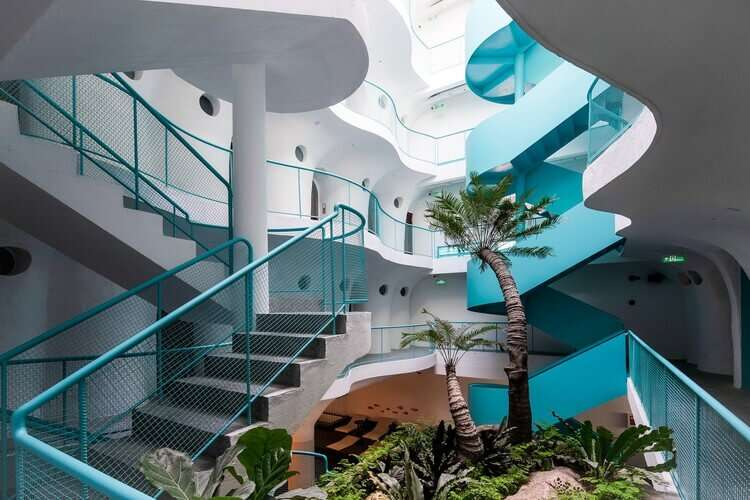 The use of biophilic design in the design of a boutique hotel de Bouton