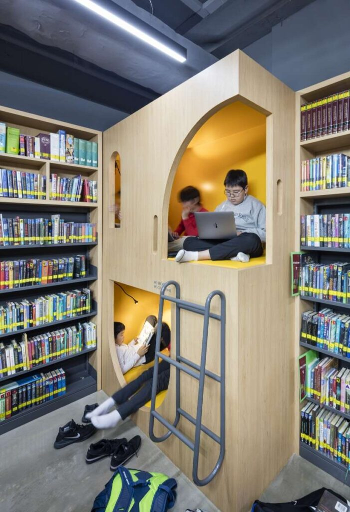Seoul Foreign Middle School Library Designed by Ennead Architects